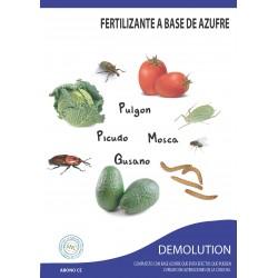 Demolution - Fertilizante a base de azufre que provocan defensa de la planta contra patógenos e insectos.